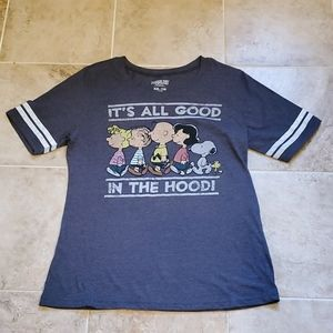 Peanuts it's all good junior sized t shirt